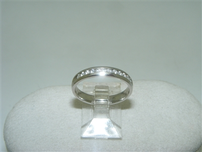 Diamond Channel Setting Ring