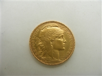 Repulique Francaise 22k yellow gold coin