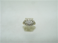 Vintage 14k yellow and white gold diamond ring