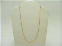 Pre-Owned Tiffany & Co Tag 18K Yellow Gold Chain