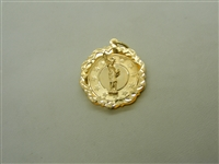 Statue Of Liberty 14k Yellow Gold Charm