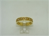 18k (750) yellow gold eternity band
