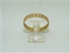 14k yellow gold eternity band