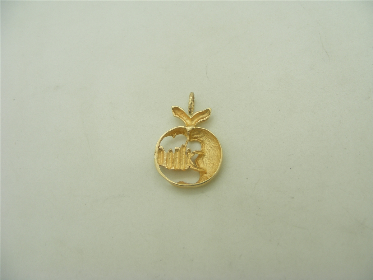 one supreme plated gold pendant green traditional mango online big palakka buy kollam gram
