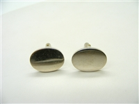 Tiffany & Co Oval Cuff Links