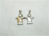 Couple Holding Hands Pendant