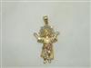 14k Yellow & Rose gold Nino Divino Pendant