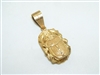 Lovely 22k Yellow Gold Beetle Pendant