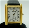 Gold Plated Movado Wristwatch