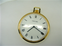 Vintage Concord Swiss Made Open Face Pocket Watch