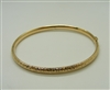 14 K Yellow Gold Bangle Bracelet