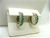 Natural Marquise Emerald Earrings