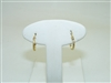 14k Yellow Gold Lever Back Baby Earrings