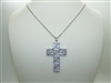 Versace Cross Pendant Necklace
