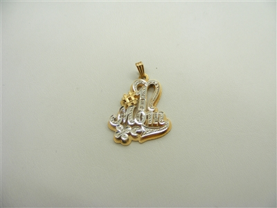 """number 1 mom"" Pendant"