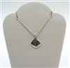 Tiffany & Co 925 Sterling Silver Pendant and Necklace