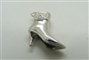 14 K White Gold Ladies Boot Pendant (Available in Yellow Gold)