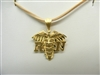 "14 K yellow Gold ""Register Nurse"" Pendant"