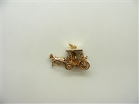 Vintage Carriage Charm