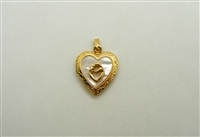Mother Heart Open Locket Pendant