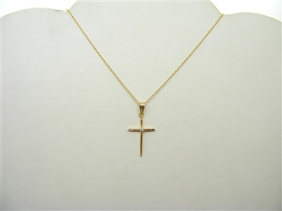 Thin Cross(w/ Chain)