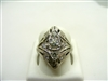 Art Deco Diamonds Ring