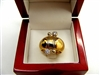 Pre-Owned Ladies 18K Two Tone Gold Diamond Baraka Ring