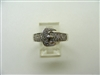 Buckle diamond Ring