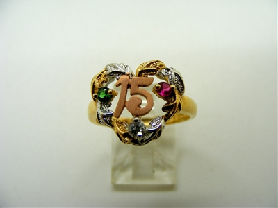 Sweet 15/ Quinceanera Ring