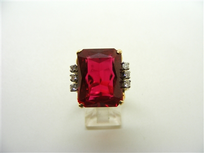 Ruby Laide Ring