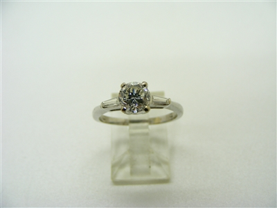 0.85 Points Engagement Ring