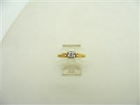 VIntage 20 points Engagement Ring