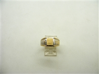 Signet Two Tone Ring