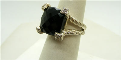 David Yurman Smoke Topaz Ring