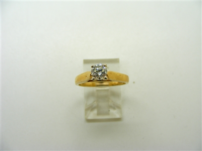 4 Prong Solitary Engagement Ring