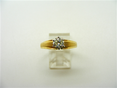 6 Prong Solitary Engagement Ring