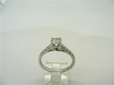 Half Carat Engagement Ring
