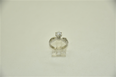 1.02 Carats 6 Prong Engagement Ring