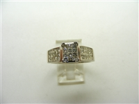 1.50 Carats Princess Cut Engagement Ring