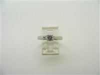 4 Prong Octillion Engagement Ring
