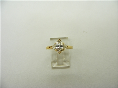 1.15 Carats Marquise Engagement Ring