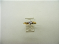 58 Points 4 Prong Engagement Ring