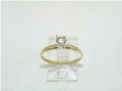 10k Yellow Gold Engagement Ring