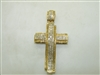 Big cross Yellow Gold Pendant