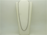 14k White Gold Fancy Italian Chain