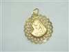 Beautiful Mary & Jesus Medal Pendant