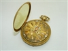 Very Unique 18k Yellow Gold Pocket Watch