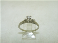 Gorgeous 14k White Gold Diamond Ring