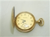 Vintage 14k Yellow Gold Waltham Diamond Pocket Watch