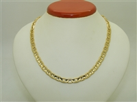 18k Yellow Gold Mariner Chain